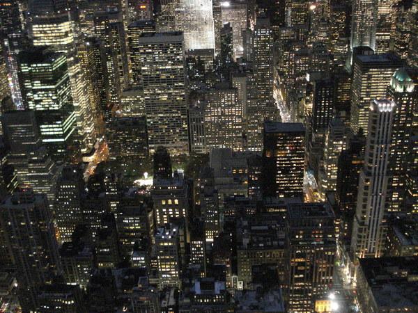 vistas noche nueva york
