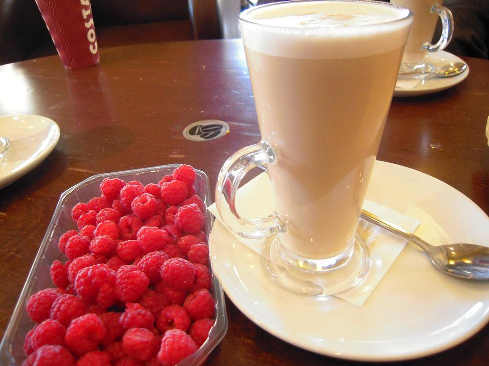 cafe y frambuesas londres
