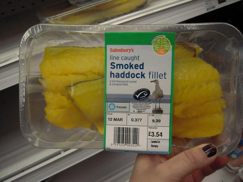 smoked haddock