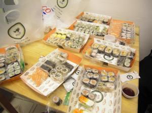 sushi buffet gratis londres
