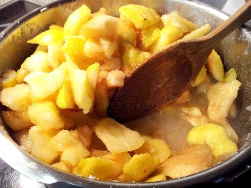 C mo hacer dulce de membrillo receta casera aniinthesky - Como preparar membrillo ...