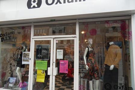 charity shop london