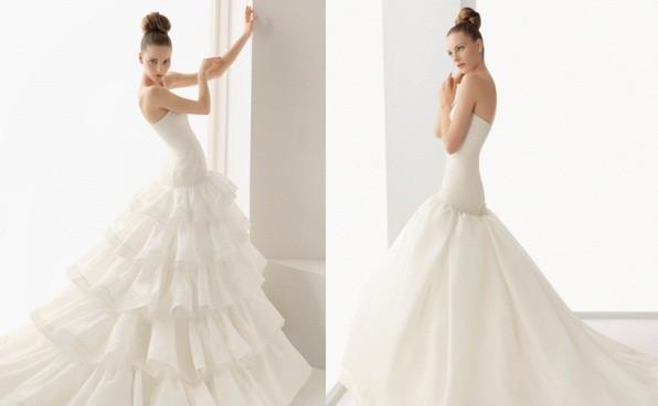 Tipos de vestidos de novia segun tu cuerpo