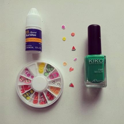 pintar uñas manicura fimo nails