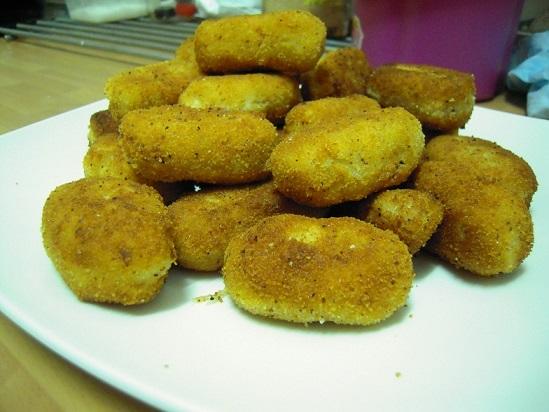 Croquetas de pollo caseras receta