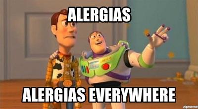 alergia primavera toy story
