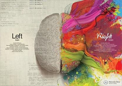 hemisferios cerebro brain publicidad mercedes