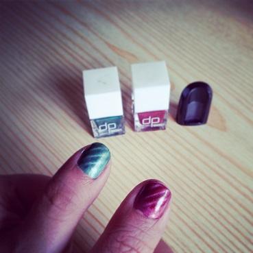 manicura iman uñas imantadas