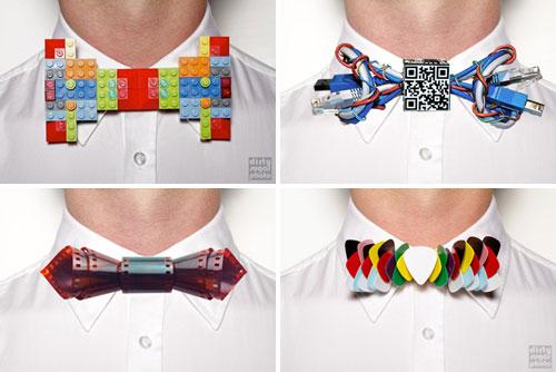 bow ties geek pajaritas