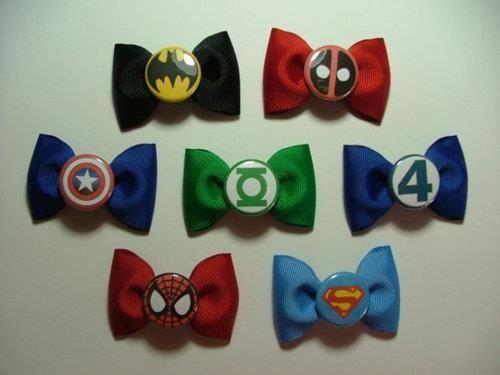 pajaritas superheroes bow tie