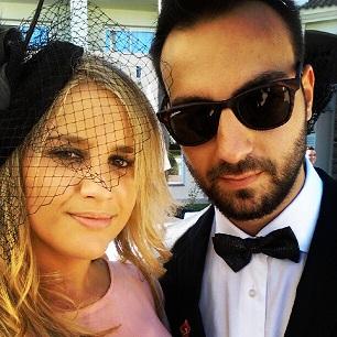 look pajarita boda aniinthesky