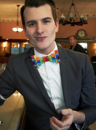 pajarita lego bow tie