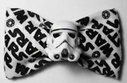 pajarita star wars Stormtroopers bow tie