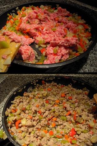 relleno de carne para berenjenas