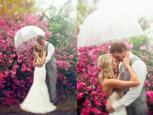 boda paraguas transparente by threenailsphotography