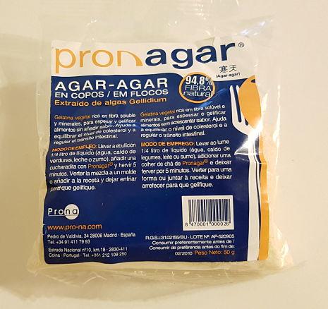 agar-agar espesar pasta carbonara de dieta light receta aniinthesky